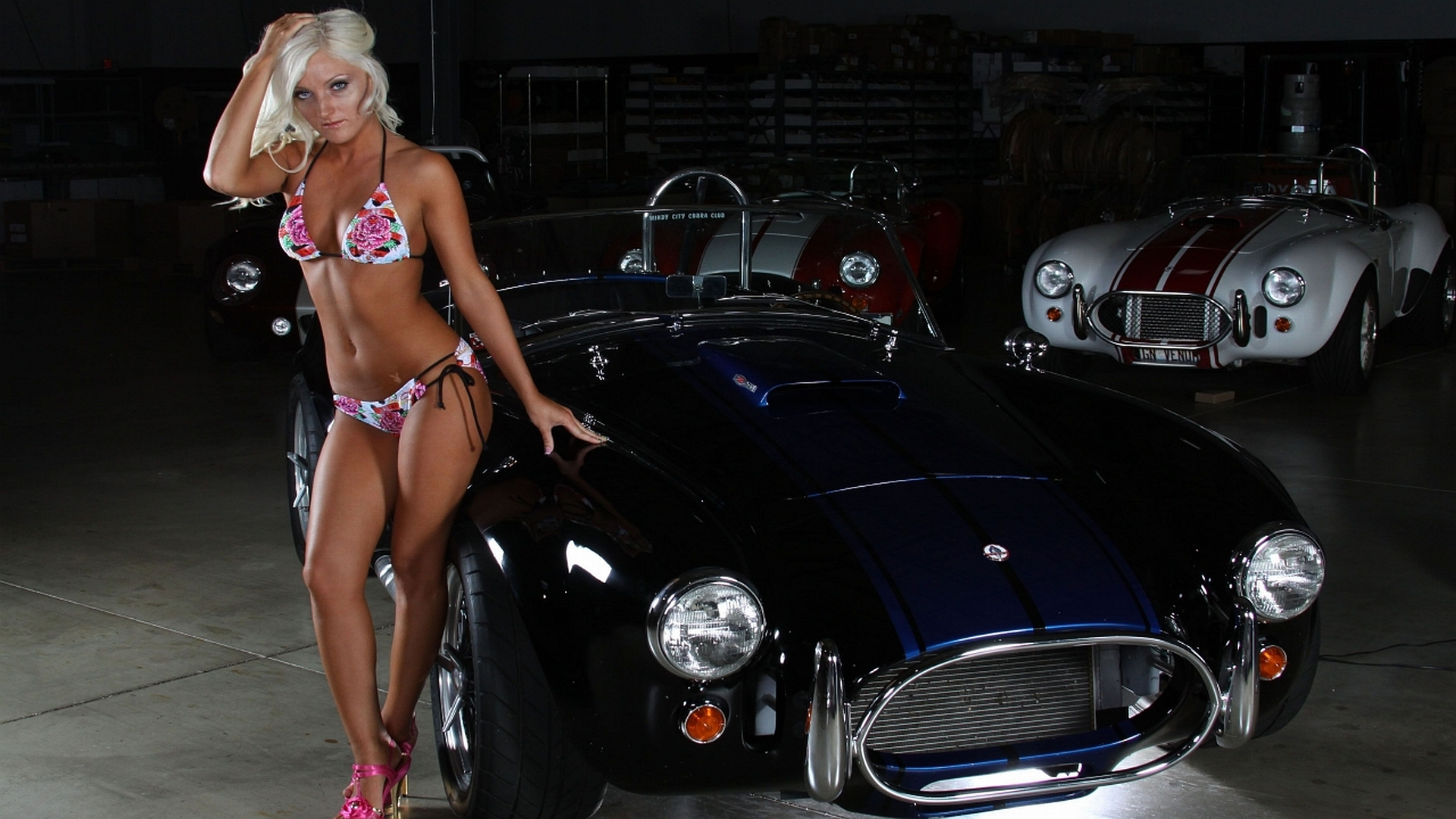 Girls Cars Wallpapers