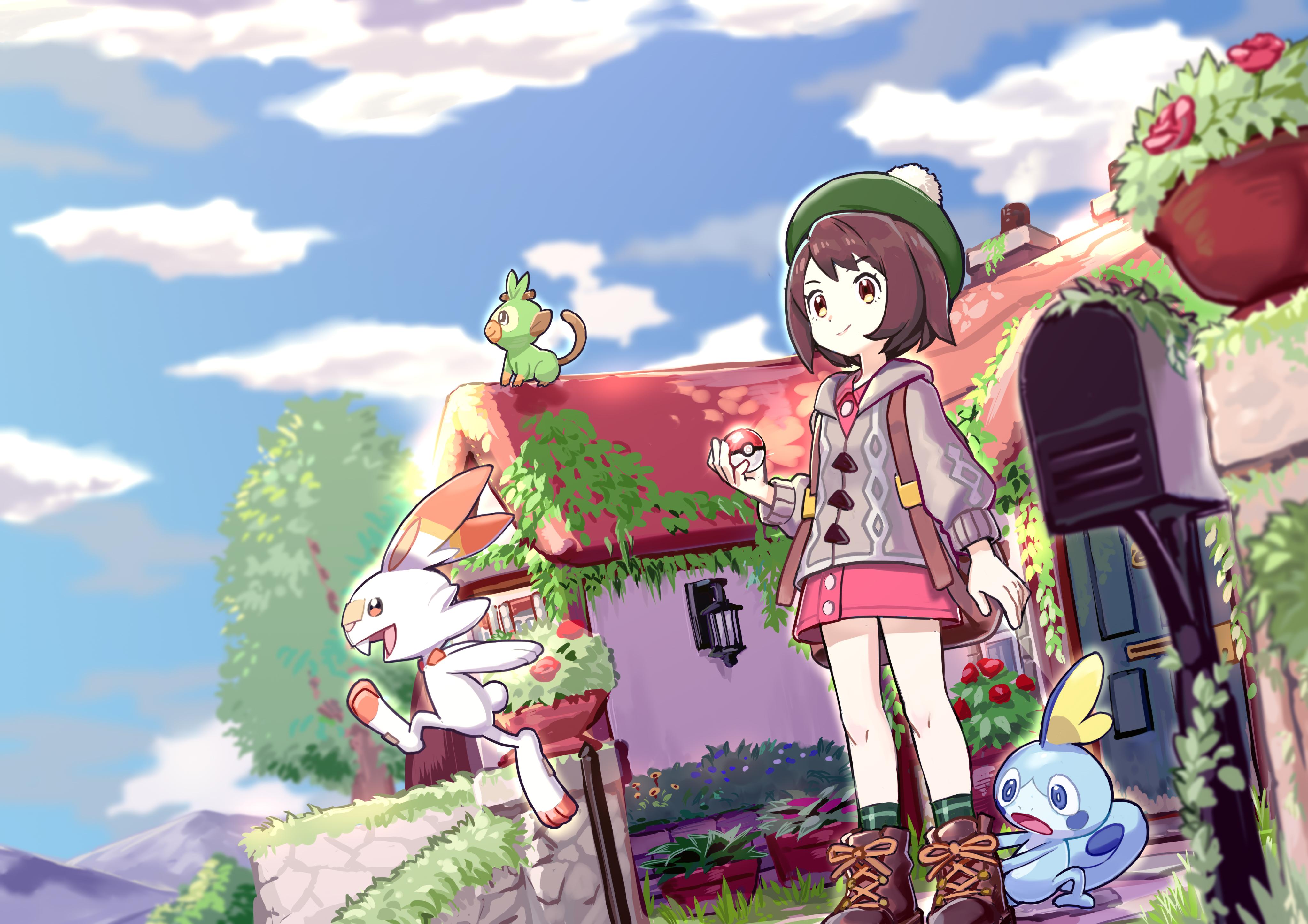 flabebe pokemon sword and shield - HD4093×2894